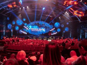 palco the illusionist canale 5 mammuccari